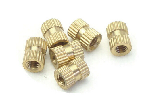 100PCS M4*4*6 MM Copper inserts Injection nut embedded parts copper knurl nut<br><br>Aliexpress