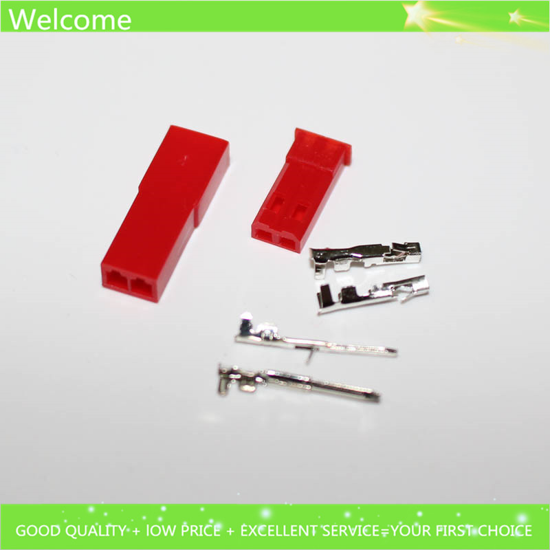 50set/lot JST 2P Connector Plug Jack 2-Pin Female Male Crimps rc battery connector car auto motorcycle ship electrical spare(China (Mainland))