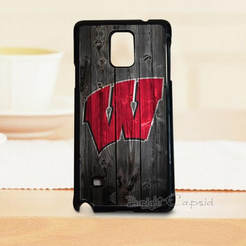 Special Providing! Hot Sales Wisconsin Mobile Phone Protective Cover Case For Samsung Note 4 Phones(China (Mainland))