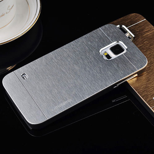 For Samsung Galaxy S5 Case i9600 Luxury brushed metal aluminium material, 1pc retail selling(China (Mainland))