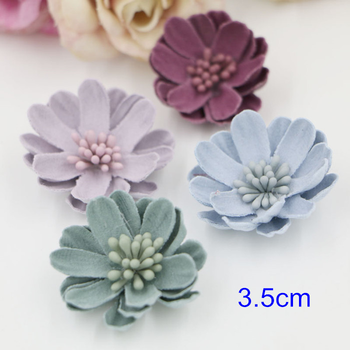 Online buy wholesale craft supplies headbands from china for Leather flowers for crafts