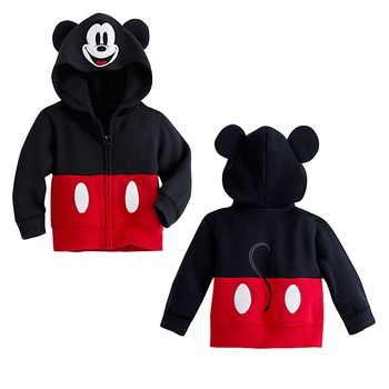 Retail 2016 baby clothing children Boy Girls sweater Hoodies Minnie Sweatshirts Mouse Cartoon Top Kids coat
