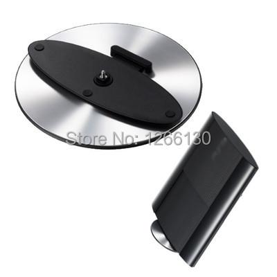 Brazil Useful Black Super Slim Vertical Round Stand Holder Base for PS3 PlayStation 3 JlMMB(China (Mainland))