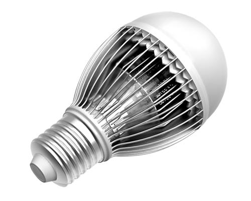 Best quality aluminum scale heatsink 5W 7W E27 LED bulb AC85-265V free shipping(China (Mainland))