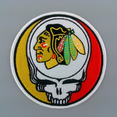 Iron On Patches For Jackets American Indians Harley Biker Team Embroidered Mc Patches(China (Mainland))