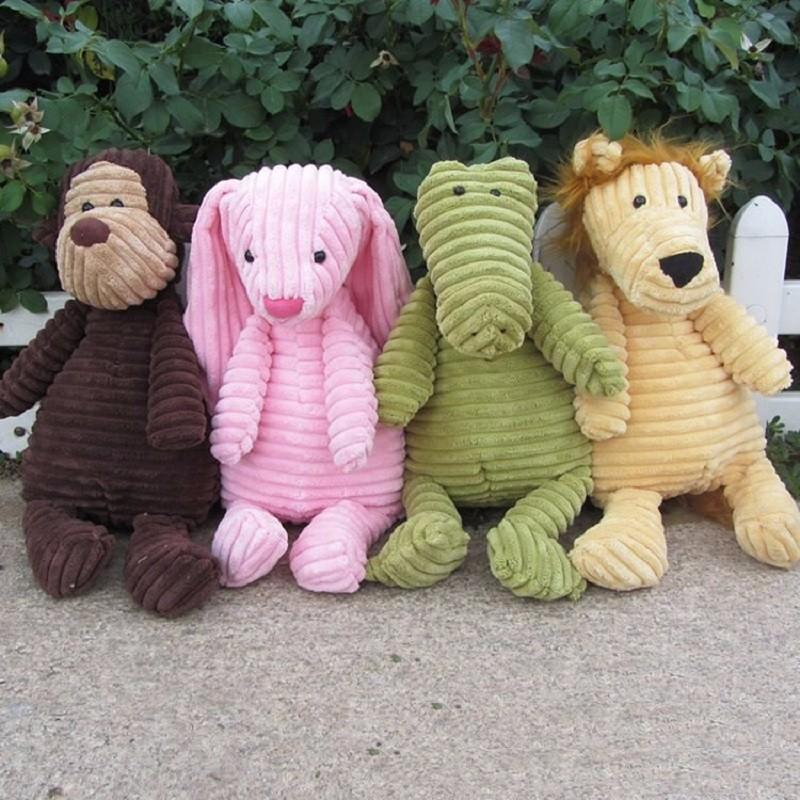 2016 25cm Bunny Rabbit Monkey Infants Codurroy Dolls British  Cordy Roy Monkey Dog Plush Toys Best Gifts for Children Girl Kids<br><br>Aliexpress