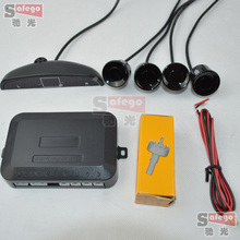 1 компл. Univeral датчик автомобильная стоянка установить в передней, задний бамперы 4 датчики парковки 0.3 — 2.0 м расстояние система помощи при парковке