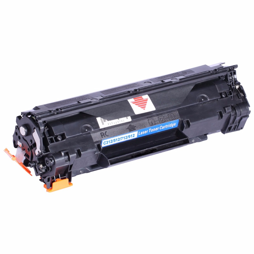 1500 pages Black Toner Cartridge Compatible for Canon CRG 312 512 712 912 For HP P1005 P1006 For Canon LBP3018 3010 3100 3150(China (Mainland))