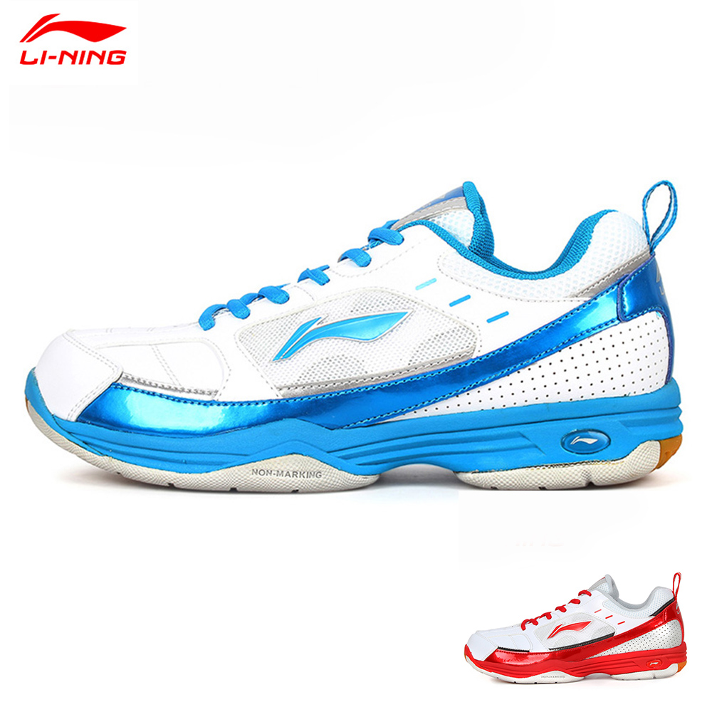 2015 Li-Ning Men Badminton Shoe Shock-Absorbant Hard-Wearing Anti-Slippery Badminton Tennis Sport Shoe Lining AYZG043(China (Mainland))