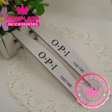 30pcs/lot 29*175mm Semilune Nail Art Files Slim Sanding Set Nail Buffers Polish Gel Tools 100/180  Manicure Pedicure Nail Files(China (Mainland))