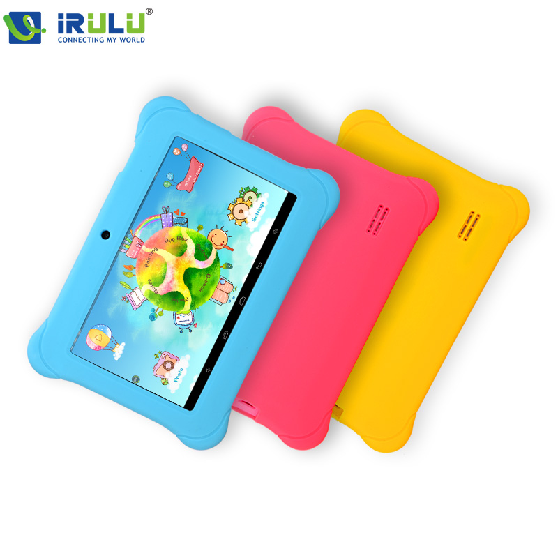 iRULU Y2 7'' Baby Pad Tablet PC for Children Quad Core IPS Screen 1024*600 Dual Cameras Android 4.2.2 1GB/8GB ROM Wifi With Case(China (Mainland))