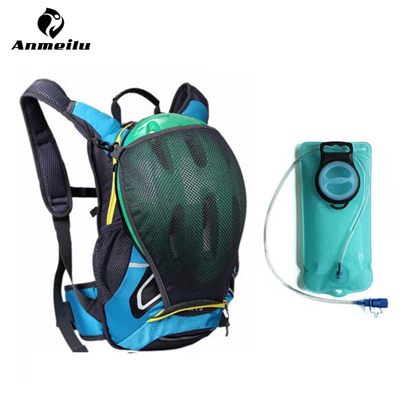 ANMEILU Climbing Bags Rain Cover & Water Tank Unisex Waterproof Sport Camping Hiking Cycling Backpack Bag Eastpack Bolsa Deporte