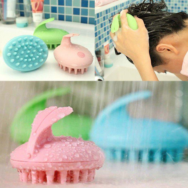 Cute Rabbit ABS Electric Magic Shampoo Massage Comb Bath Massage Brush Scalp Massager Head Hair Care Vibrating Brush XY2575(China (Mainland))