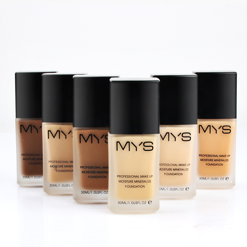 new arrival pro makeup brand face liquid foundation moisturizer waterproof concealer foundation make up base face cream cosmetic(China (Mainland))