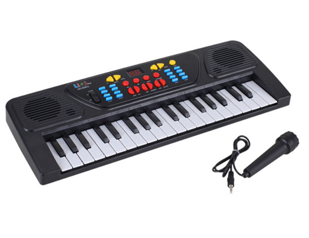 Baby Toys 37 Keys Music Electronic Keyboard Kid Electric Piano Organ With Mic For Children Gifts(China (Mainland))