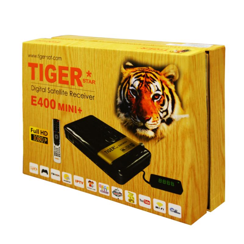 Hot sale Tiger Star E400 Mini plus IPTV Digital satellite receiver satellite IPTV receiver(China (Mainland))
