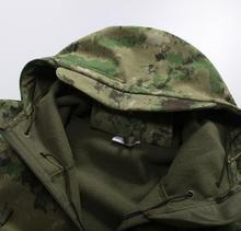 2016 winter latest ruins camouflage fleece jacket windproof waterproof men's suits(China (Mainland))