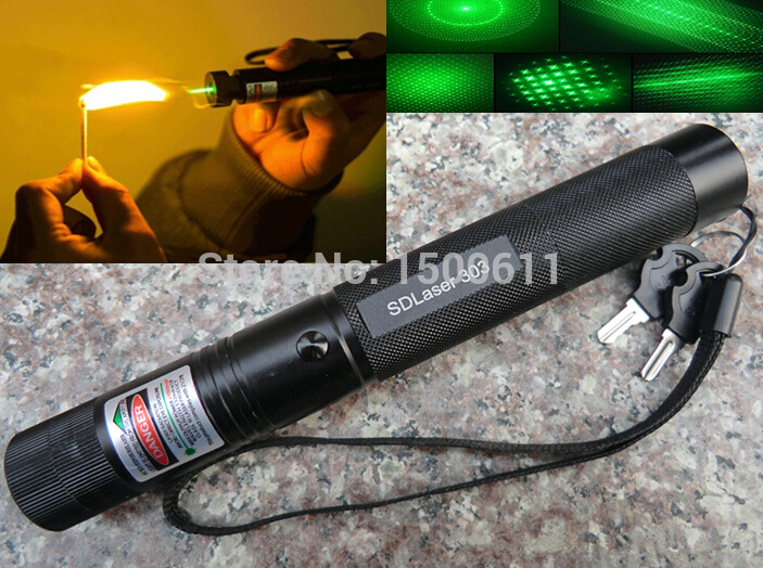 2015 Best selling 1pc JD303 532nm Fixed Focus Green Laser Pointer Free plus laser head 5 MILES RANGE FreeShipping Brand New