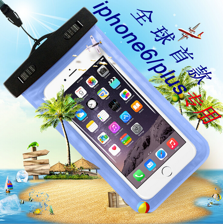 9 colors Outdoor travel swim dive submersible document package Mobile Phone Waterproof Bag case cover Mobile Phone Accessories(China (Mainland))