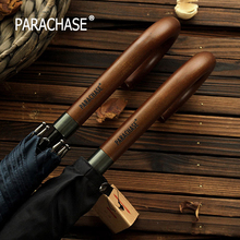 Buy New Arrival Japanese Brand Long Umbrella 8K Windproof Wooden Handle Large Men Umbrellas Rain Classic Business Paraguas for $18.99 in AliExpress store
