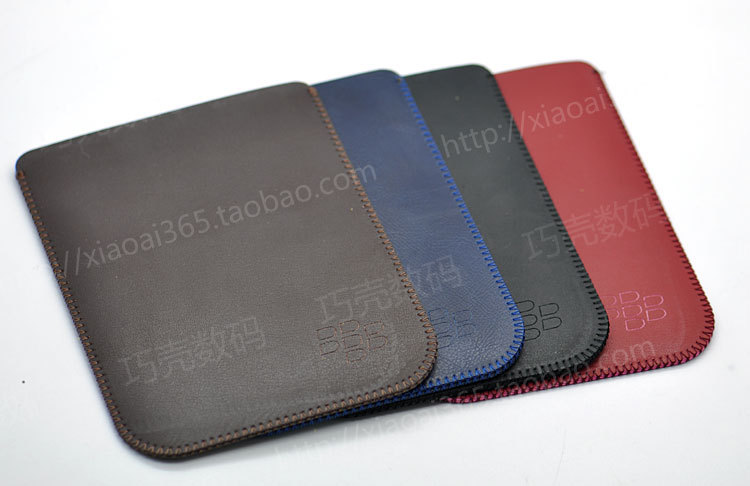 New Arrival Hot selling ultra-thin super slim sleeve pouch cover, vintage microfiber stitch case for Blackberry Passport Q30(China (Mainland))