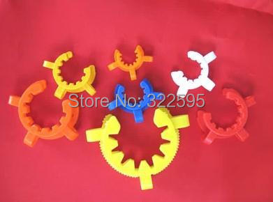 free shipping 10pcs Plastic Keck Laboratory Lab clamp clip 19#<br>