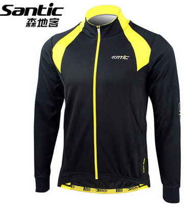 SANTIC Men Cycling Jersey Long Sleeve Anti-sweat Breathable MTB Road Bike Shirt Bicycle Clothing Ciclismo<br><br>Aliexpress