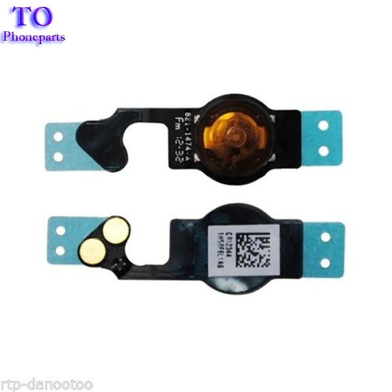 100pcs/lot Original New Home Button Flex Cable for iPhone 5 5G free shipping(China (Mainland))
