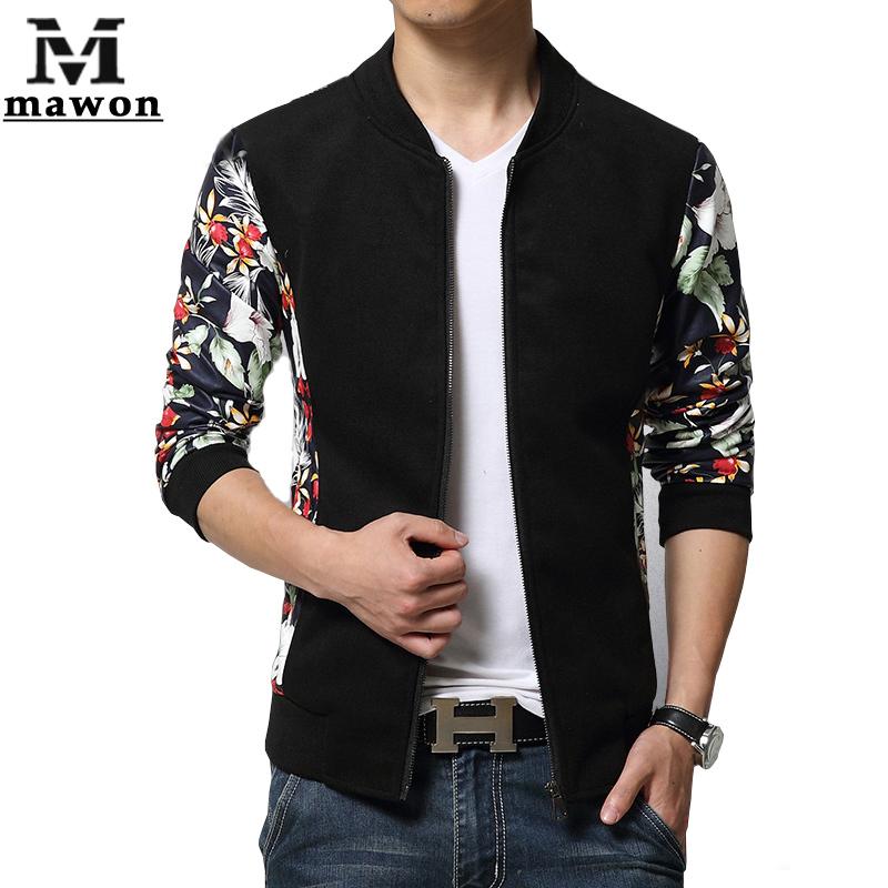 Plus Size 5XL Leather Sleeves Men Jacket European Brand Design Jaqueta de couro Fashion College Baseball Jaqueta Masculina MJ232(China (Mainland))