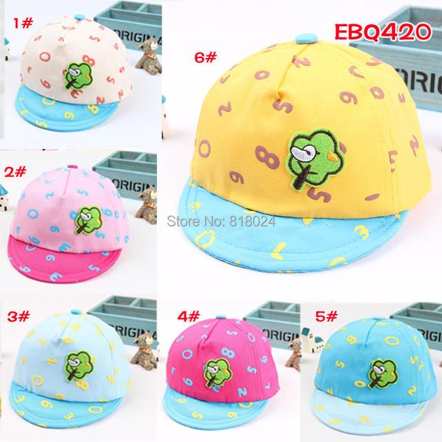 Весна и осень прорезиненная тесьма 42 - 48 см унисекс младенцы шляпа шапки 3 - 10 месяцев дети бейсбол кепка дети Casquette