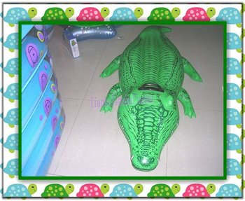 Luxury Inflatable crocodile spring perch/New Inflatable Pool Toys /Swimming seating for children,High quality