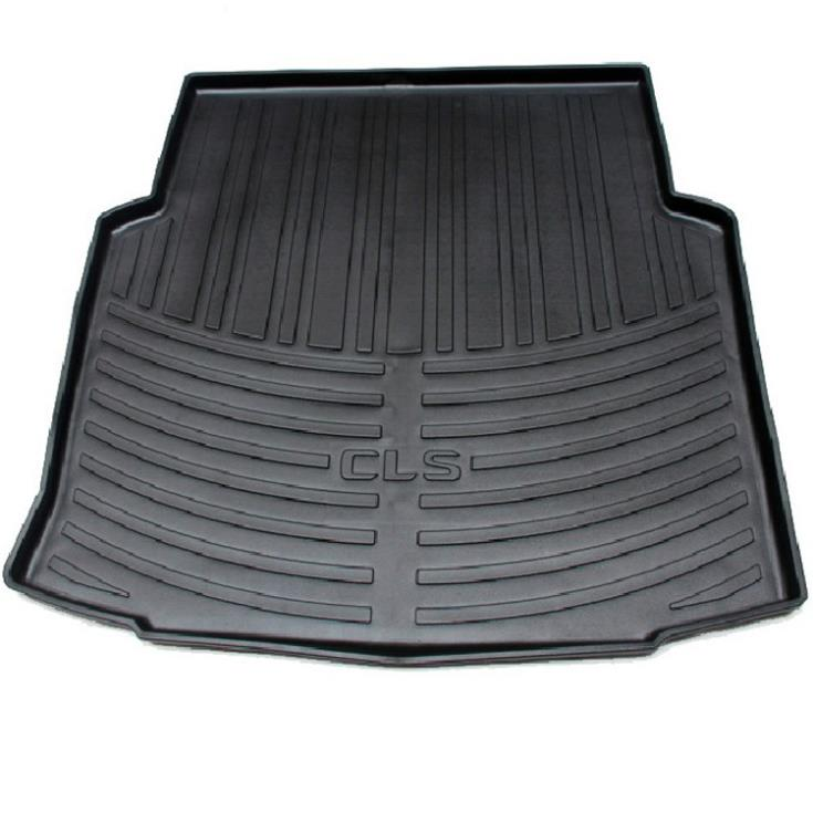 special rubber latex car trunk mats after the warehouse -dimensional high-side pad case for benz CLS-Class 300 350 500 CGI(China (Mainland))