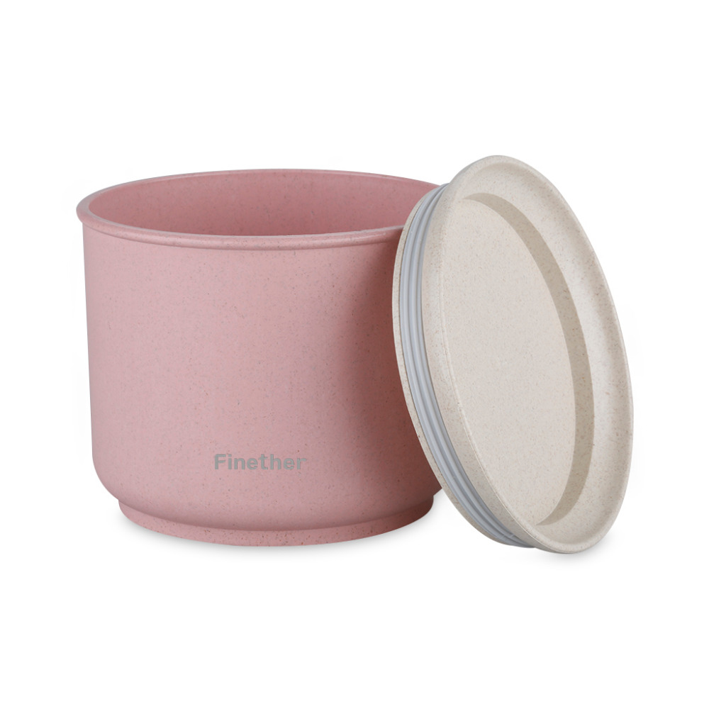 Finether Wheat Straw Sealed Storage Containers Plastic Food Storage Box Preservation Box Container for Refrigerator Kitchen(China (Mainland))
