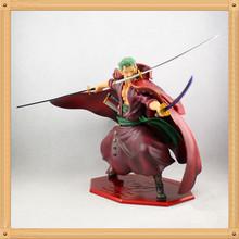 One Piece brinquedos meninos onepiece red cloth Roronoa Zoro 21cm pvc Action Figure Collectible Toys for kid boy