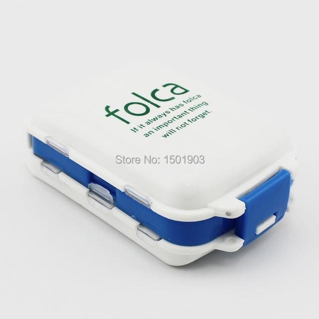 Складной 8 сетка неделю pill box Хранения Коллекции Box Контейнер Случае