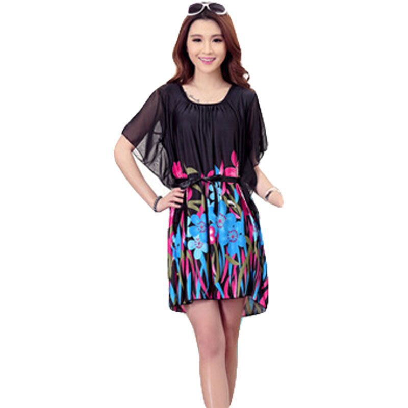 Aliexpress.com : Buy Plus Size Dress Summer Style Casual ...