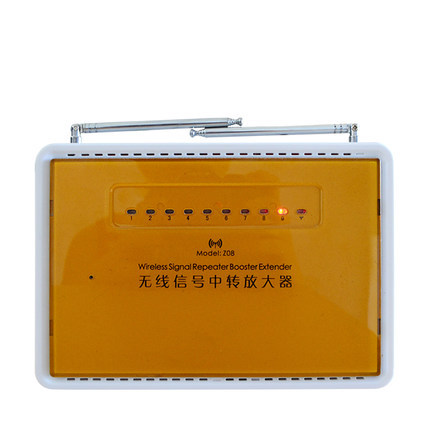 Remote wireless signal transfer/signal booster/ signal extender repeater KR-Z08 Double antenna transceiver home alarm system
