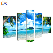Seascape Canvas Painting 100% Handpainted Modern Abstract Oil Painting on Canvas Wall Art  Living Room  Decoration  ,JYJHS107(China (Mainland))