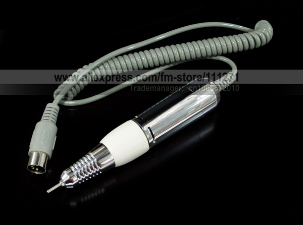 1pc - Handle / Handpiece (White) / 20K rpm for Nail Drill (202/278/288)- Electric Nail Manicure /Pedicure machine -Free Shipping