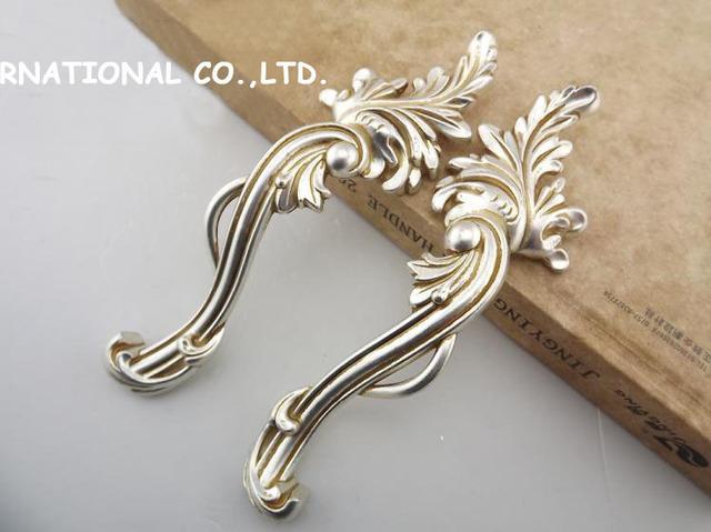 96mm Free shipping 2pcs/set zinc alloy  modern handle knob Kitchen Cabinet Furniture Handle