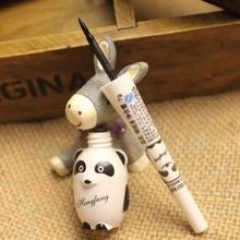 Best*SM13 Cute Panda Waterproof Makeup Cosmetic Black Liquid Smooth Eye Liner Eyeliner Pen