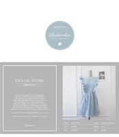 Корейские бренды моды свежие леди бабочка рукав платье линия для женщин казуальных мини оборками платья винтажном Преппи стиле платье