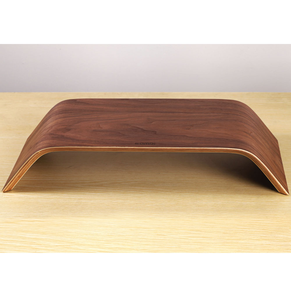 High Quality Wooden Desktop Computer Stand Dock Holder