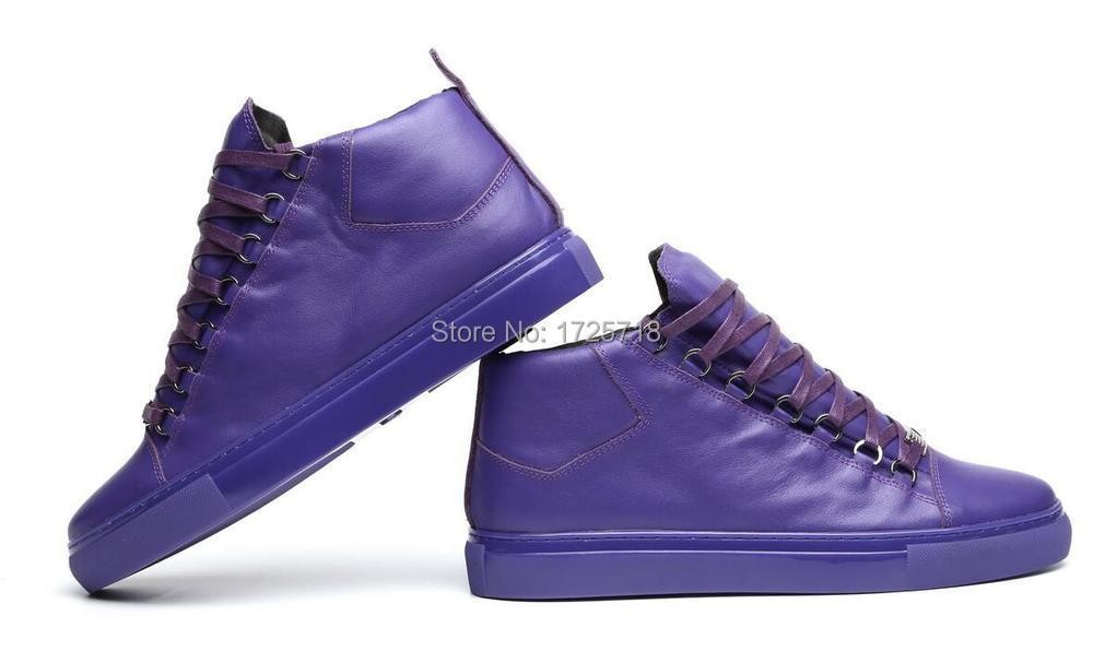 purple fashion casual shoes bl flats high top shoes