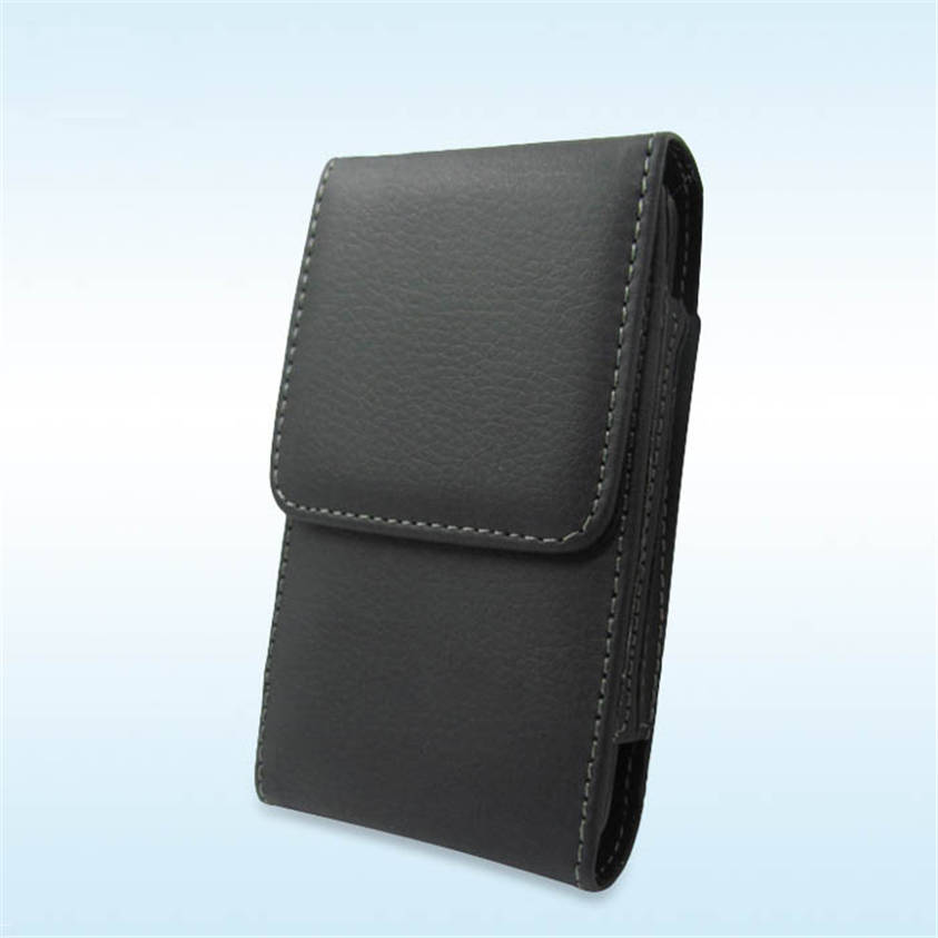 HL New Black Vertical Belt Clip Leather Case Cover Holster For iPhone 3G 3GS 4G 4S Mar22(China (Mainland))