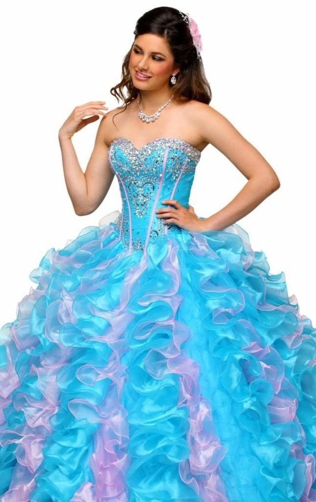 Sweetheart Quinceanera Dresses Beading Formal Party Prom ...