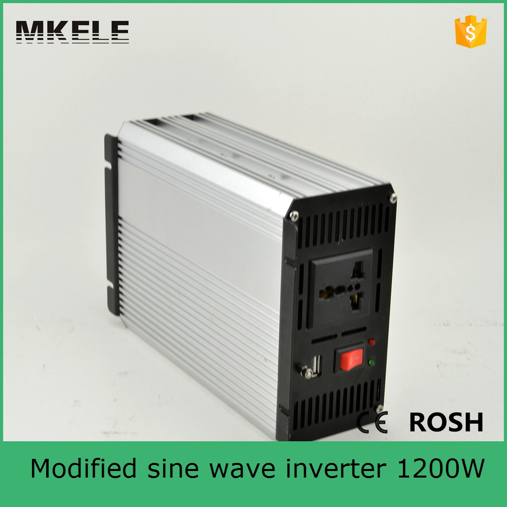 MKM1200-241G dc ac modified sine wave 24v to 110v 1200W industrial power inverters solar off grid inverter manufacturers(China (Mainland))