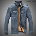 Hot High quality new winter fashion men s coat men s thick jackets men s leather