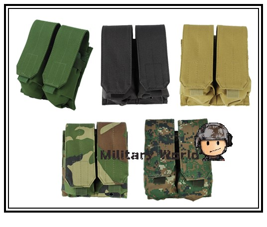 Airsoft Tactical Molle Double Magazine Pouch Drop Pouch 1000D Nylon Military Hunting Bag Men Tactical Vest Accessory Bag Pouch&amp;<br><br>Aliexpress