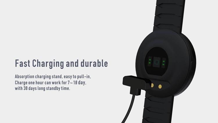 ถูก UW1บลูทูธสมาร์ทดูกีฬาสร้อยข้อมือHeart Rate MonitorโทรSMSเตือนIP67กันน้ำPedometerสำหรับA Ndroid iOS S Mart W Atch